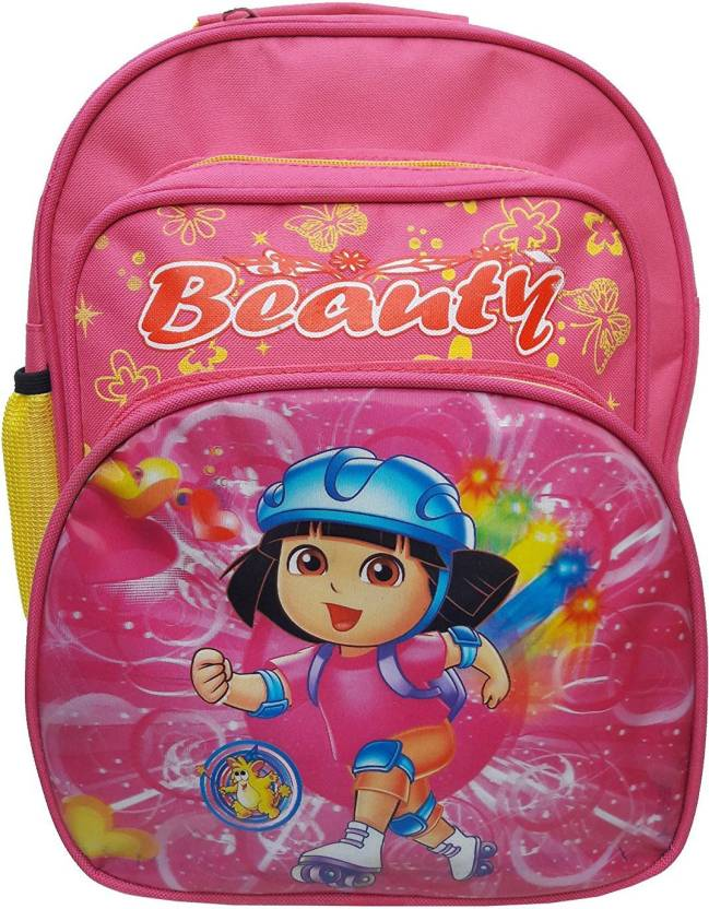 Batu Lee DORA PINK BAG Waterproof School Bag (Pink 5b5d4c5f9f504