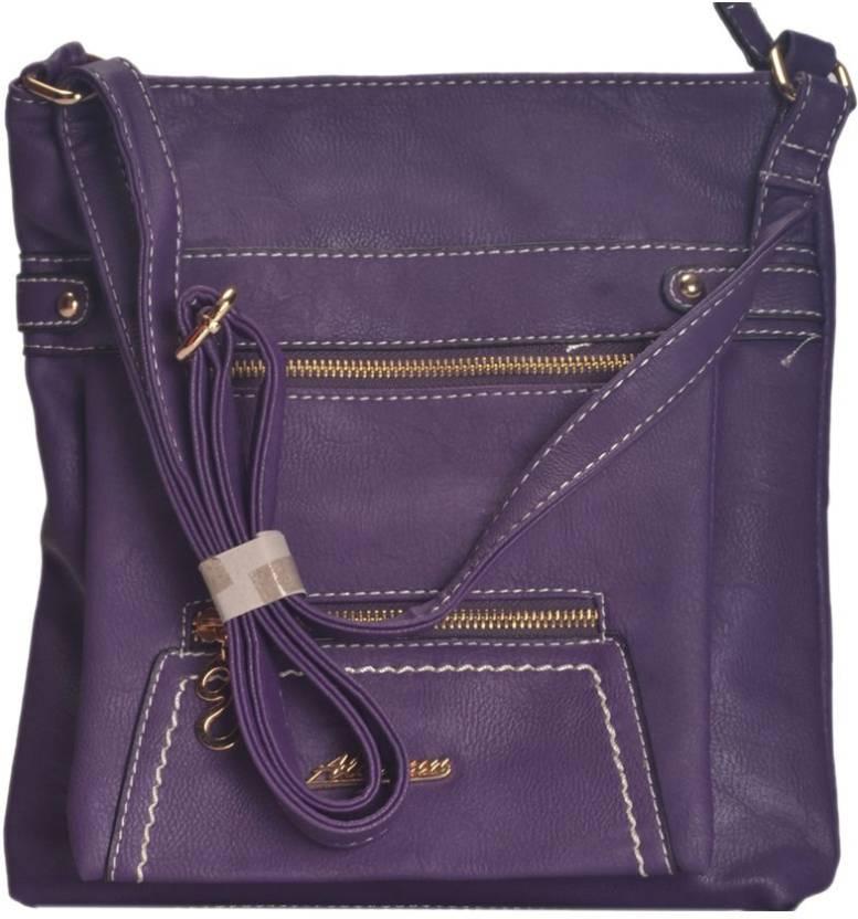 45381a2a4adf NOVICZ Bag sling purple Waterproof School Bag