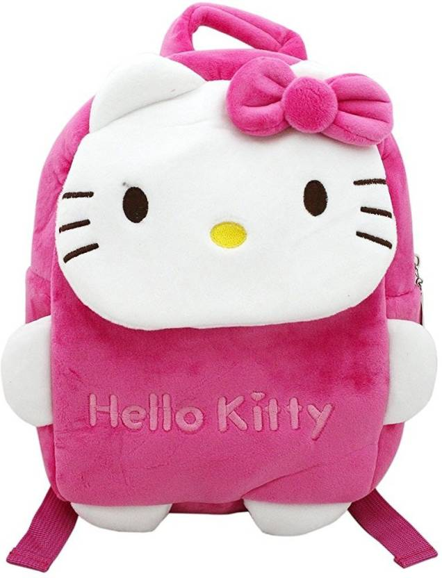 87649533c Shoppertize Shoppertize Hello Kitty Soft Material Small School Bag For  Small Kids With Adorable Cartoon Character - (Small) Waterproof School Bag  (Pink, ...