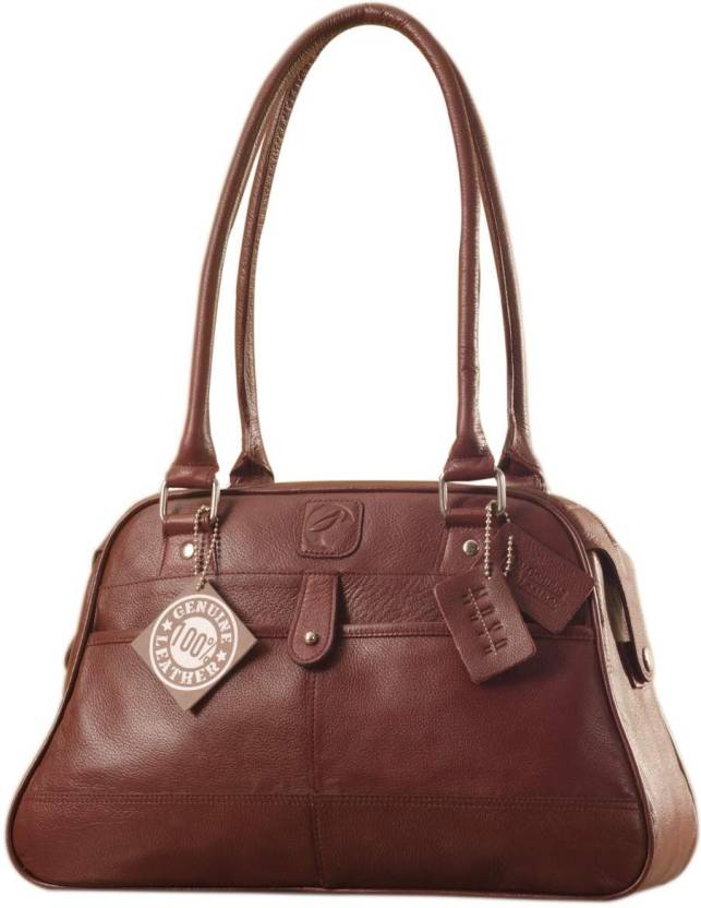 eZeeBags Professional in look   feel this handbag is to enhance your  professionalism in style   elegance YA825v1 Shoulder Bag (Maroon, 1 L) 0a2a5ab014