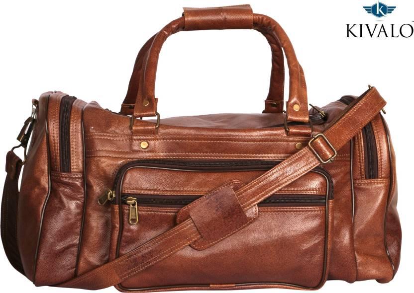 Kivalo Original Leather Superior Quality Multipurpose Bag (Brown 96819125bbbf8