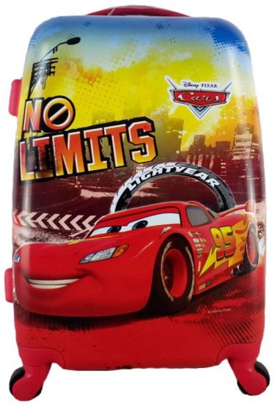 DISNEY GAMME DISNEY GAMME RED PIXAR-CAR KIDS LUGGAGE TROLLEY BAG Waterproof Trolley