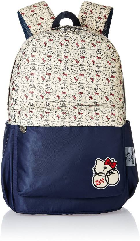 Hello Kitty MBE-HKP053 Waterproof School Bag (Black 17349a8b84cb3
