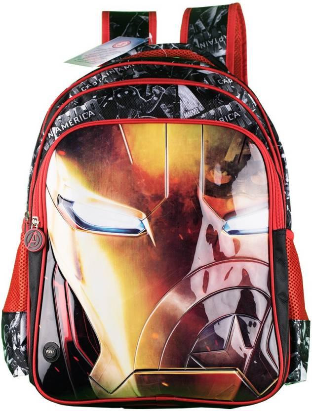 Iron Man School Bag
