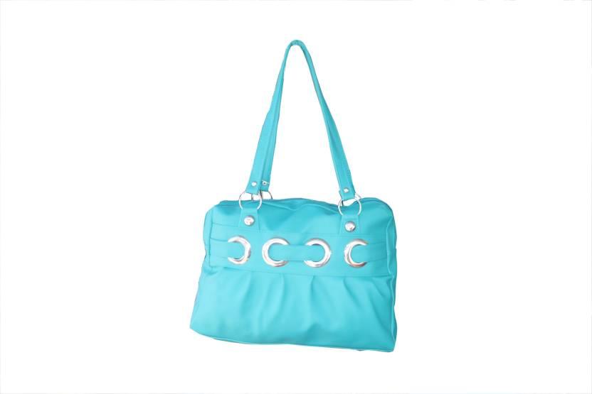 9117a9784e La Polo La Polo Expandable Green Shoulder Bag Waterproof Shoulder Bag  (Blue