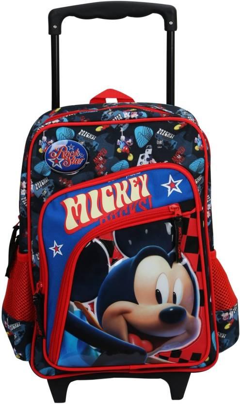 Disney Mickey Mouse Trolley School Bag 18