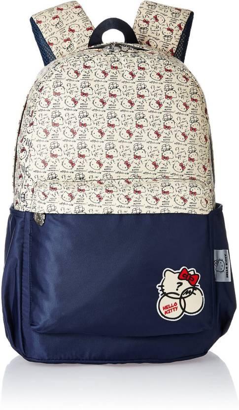 4ac77308797b Hello Kitty MBE-HKP051 Waterproof School Bag (Black