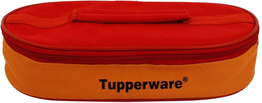 Tupperware Lunch box bag Lunch Bag Red, 3 inch