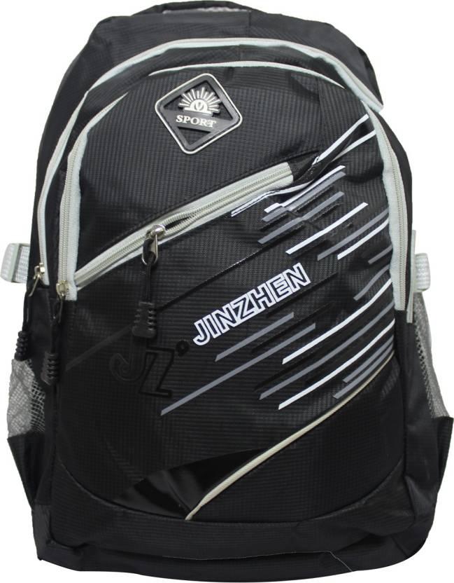 ccb54ea565 JINZHEN ONMBP109 Waterproof Backpack (Black