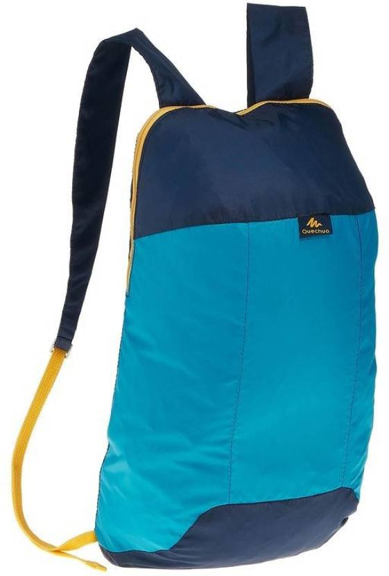 a0e1e565b418 QUECHUA ARPENAZ 10 ULTRA-COMPACT 8348925 Waterproof School Bag (Blue