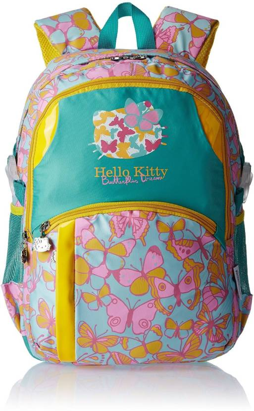 Hello Kitty MBE-HKP064 Waterproof School Bag (Blue c03f3990ff93c