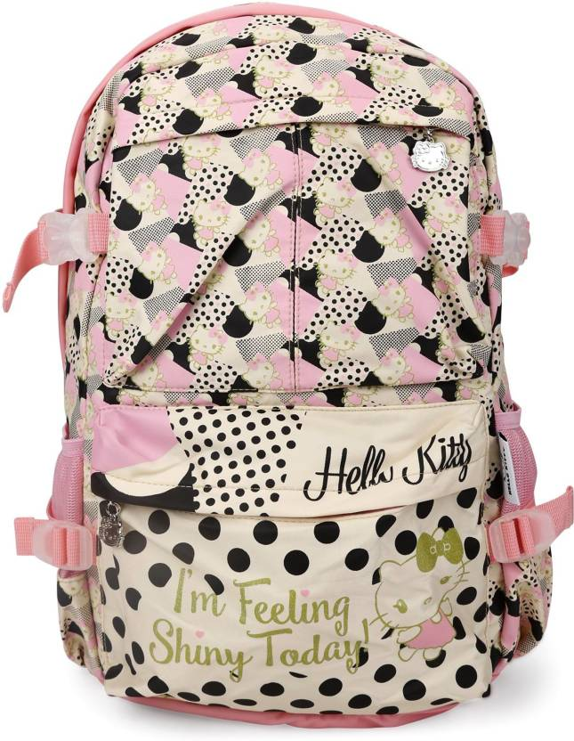 eac30889027b Hello Kitty Bag Waterproof School Bag (White