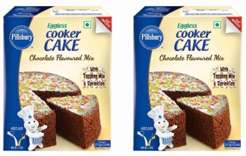 Pillsbury Eggless Cooker Cake Mix Vanilla