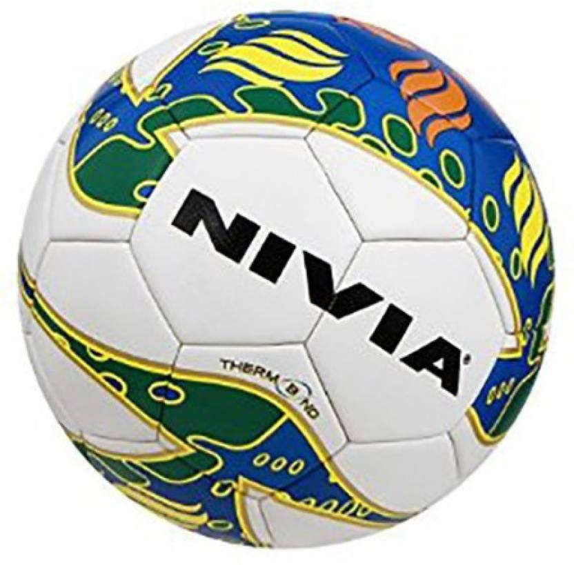 Nivia Thermobond Football -   Size: 5,  Diameter: 22.75 cm