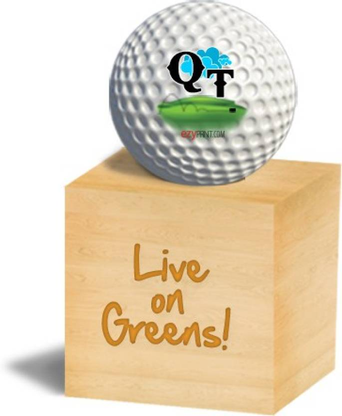"ezyPRNT ""QT"" Golf Ball -   Size: 4.26 cm,  Diameter: 4.26 cm"