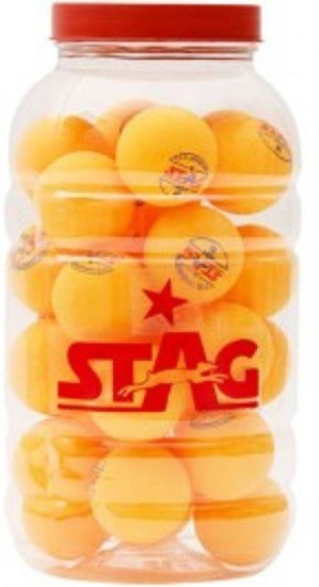 Stag One Star Pet Ping Pong Ball -   Size: 4