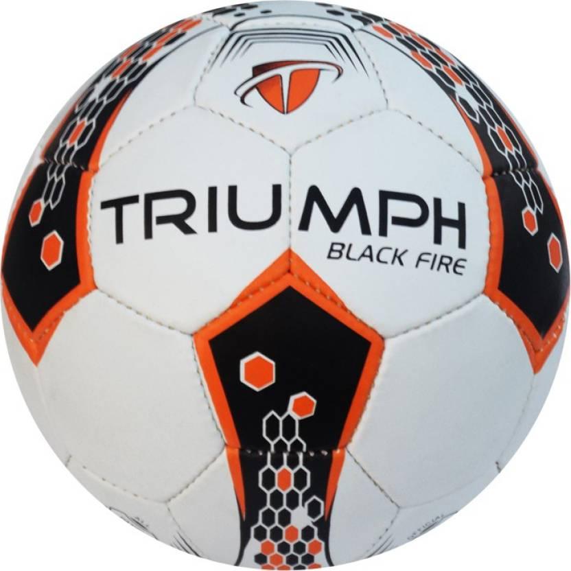 Triumph Black Fire Football -   Size: 5