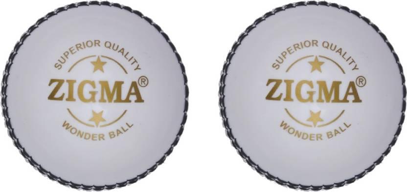 Zigma Wonderball Cricket Ball -   Size: 6,  Diameter: 7.15 cm