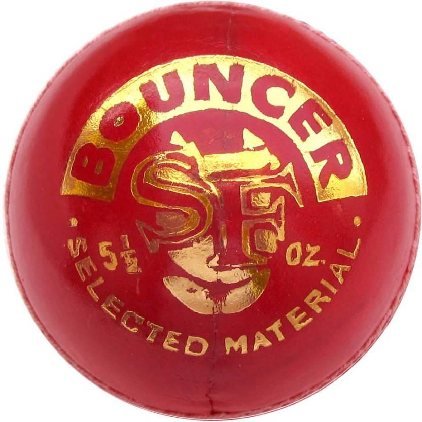 Stanford Bouncer Cricket Ball -   Size: 5,  Diameter: 2.5 cm