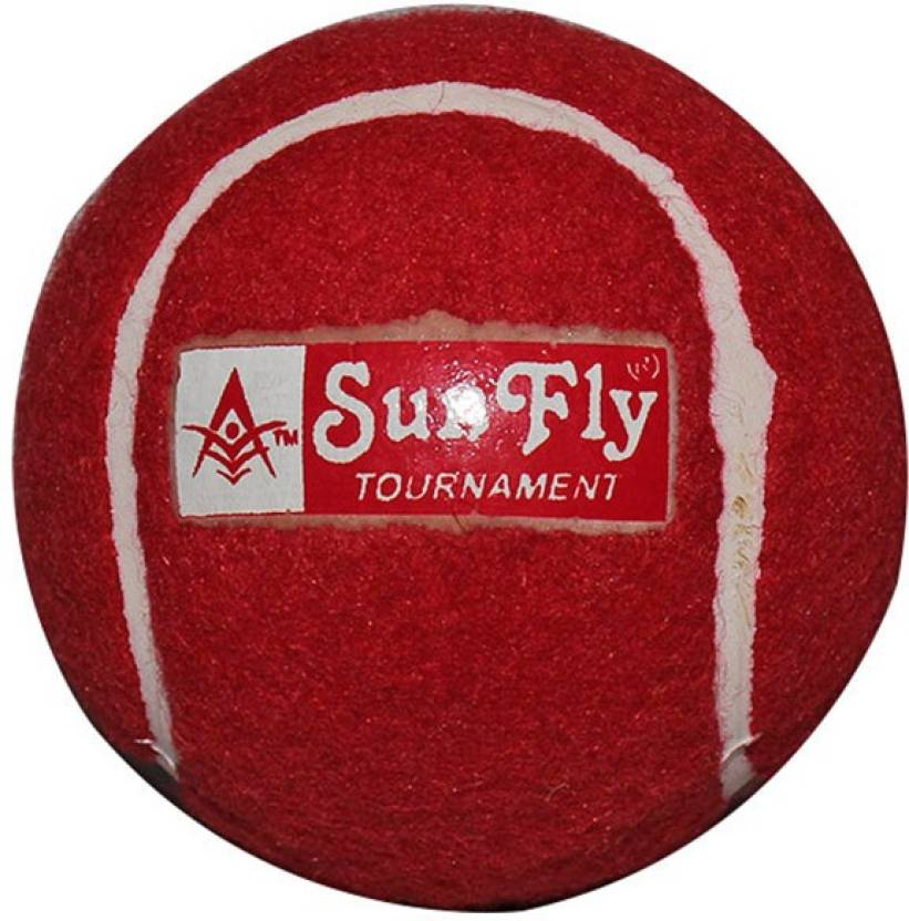 SF Red Ball Cricket Ball -   Size: 3