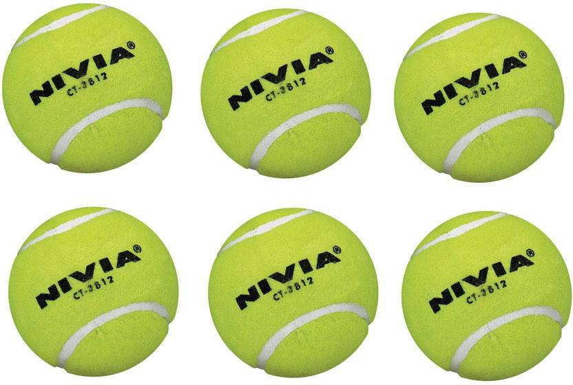 Nivia speed Tennis Ball -   Size: 1