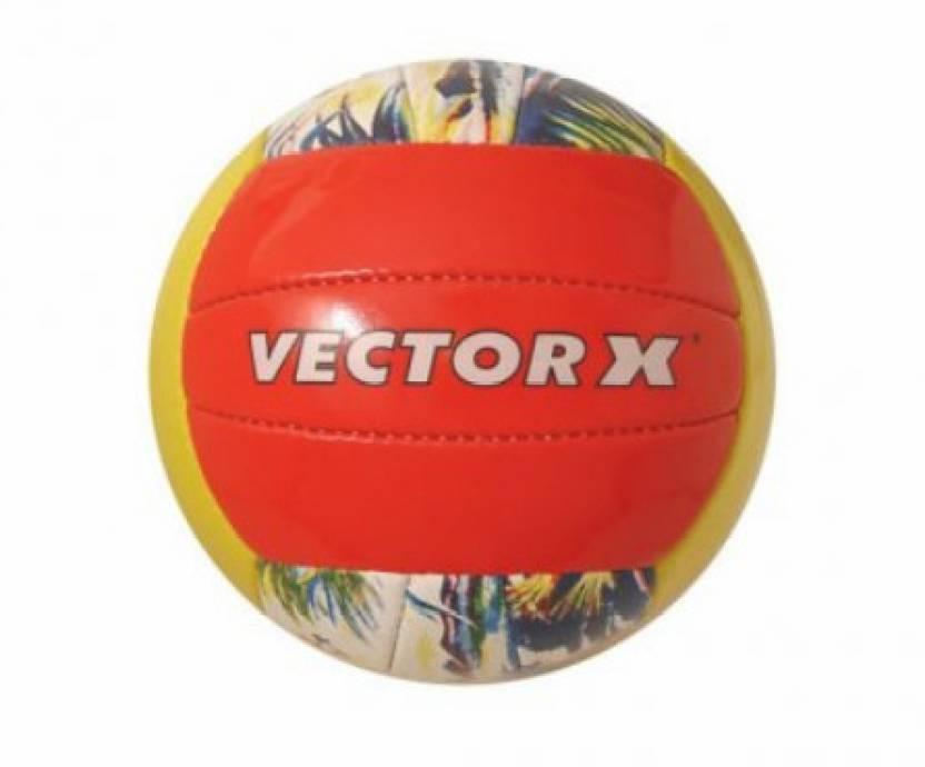 Vector X Sunset Volleyball