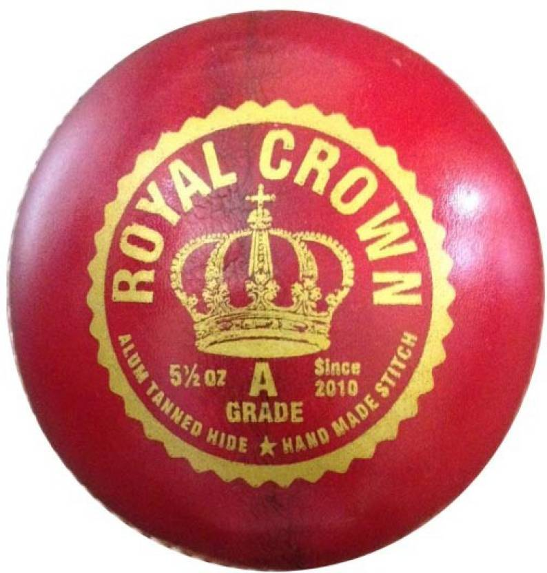 APG Royal Crown Cricket Ball -   Size: 5