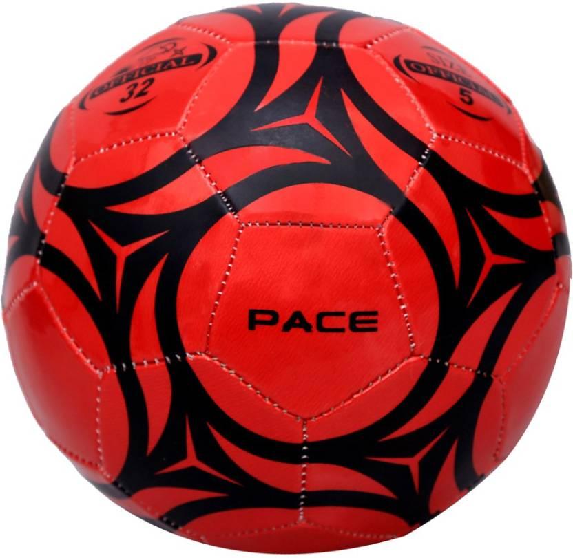 Pace Star Football -   Size: 5,  Diameter: 21.5 cm