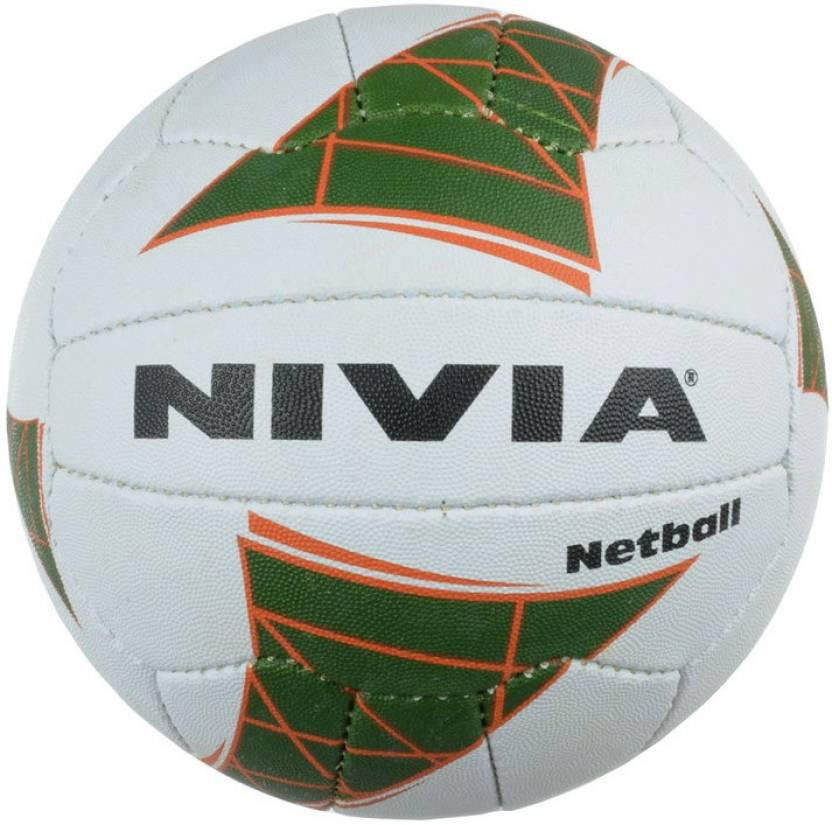 Nivia Synthitic Rubber Netball -   Size: 5,  Diameter: 24 cm