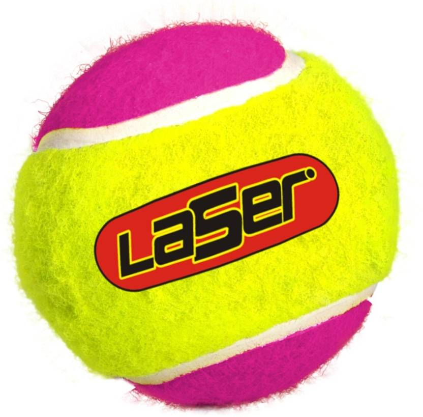 Laser Cricket Tennis Ball -   Size: Standard