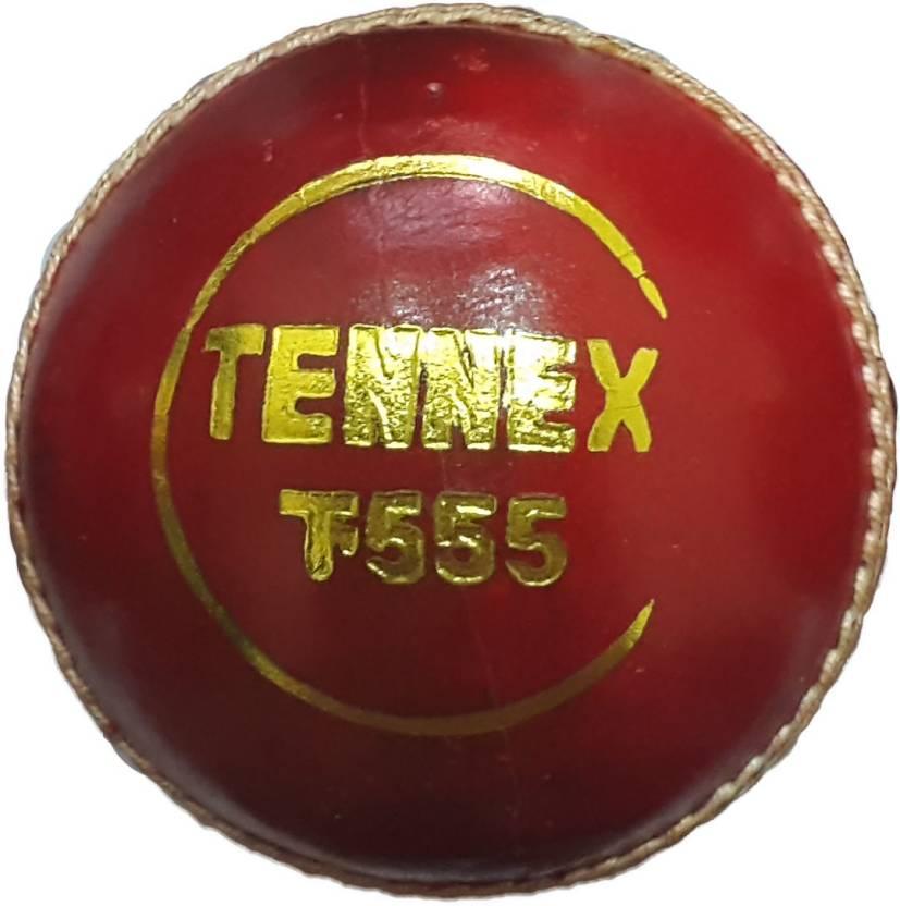 Tennex Leather T-555 Cricket Ball -   Size: Standard,  Diameter: 7 cm