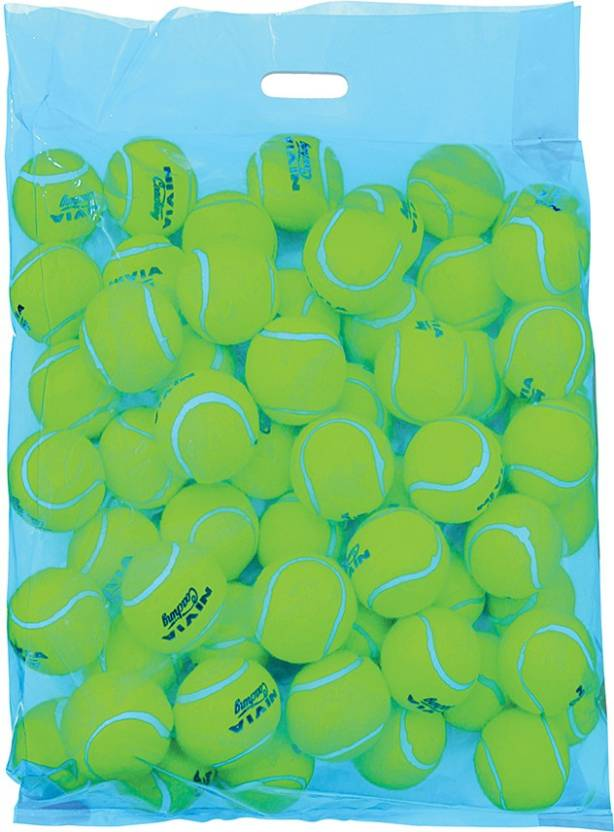 Nivia Practice Tennis Ball -   Size: 1
