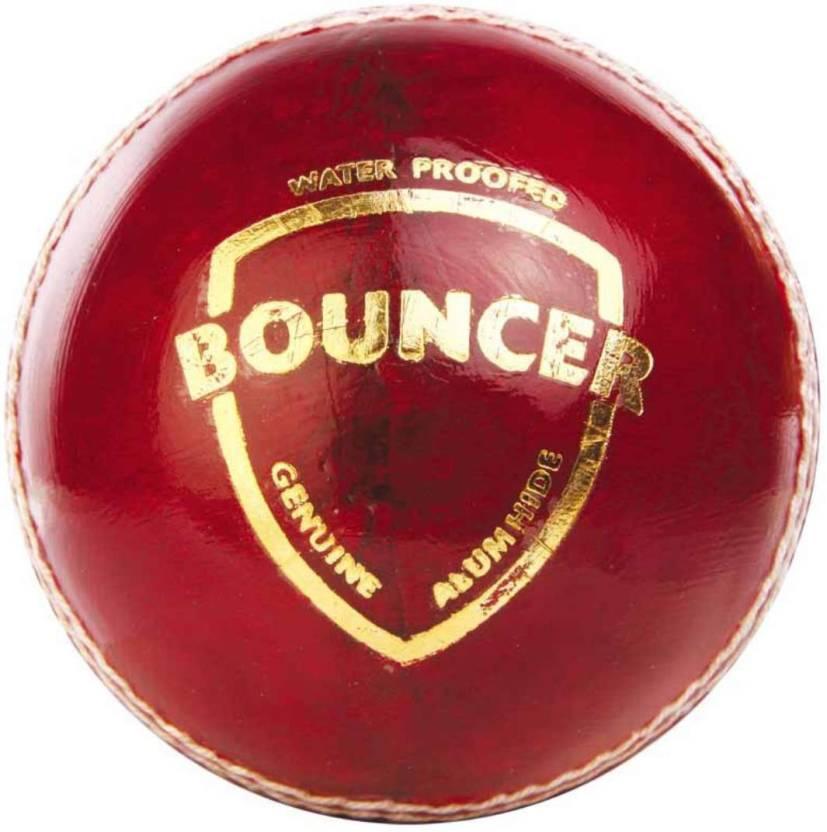 SG Bouncer Cricket Ball -   Size: 4,  Diameter: 7.2 cm