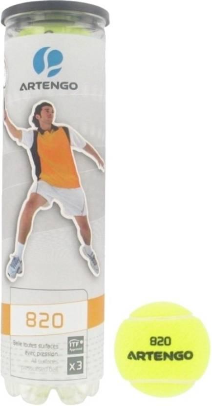 Artengo 820 Tennis Ball -   Diameter: 6.65 cm