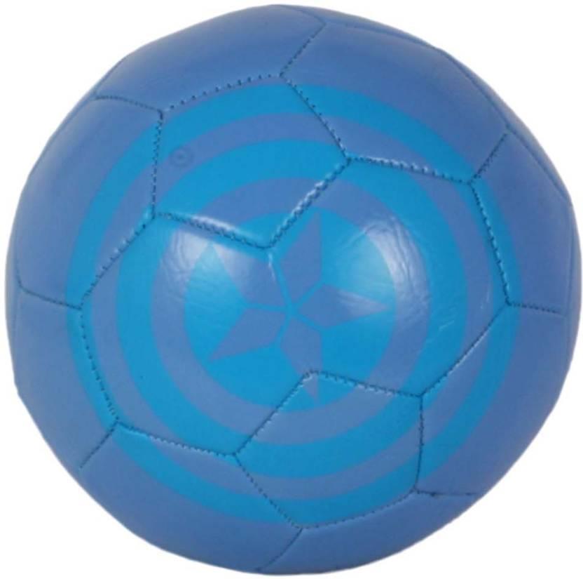 Disney Captain America Football   Size: 3 Pack of 1, Blue