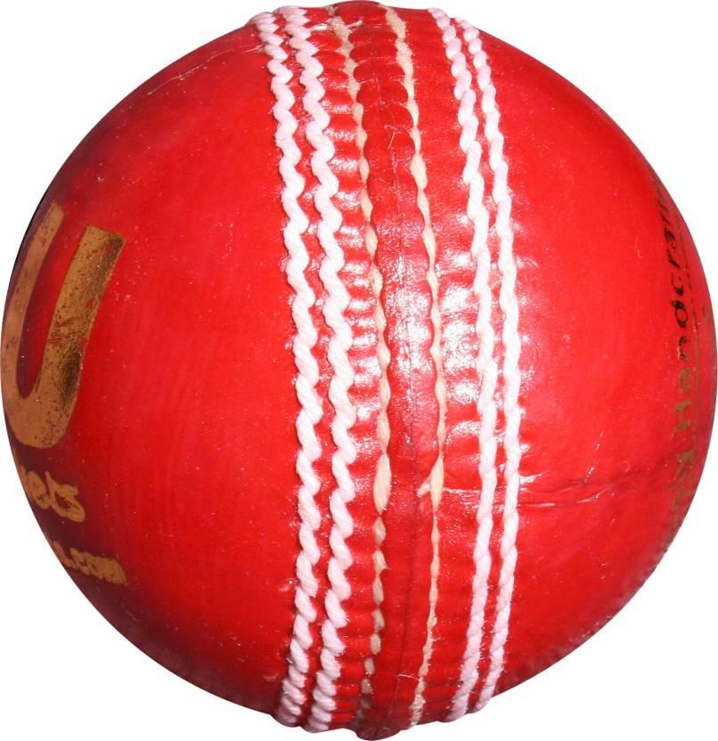 THREE WICKETS JAGUAR Cricket Ball -   Size: Full