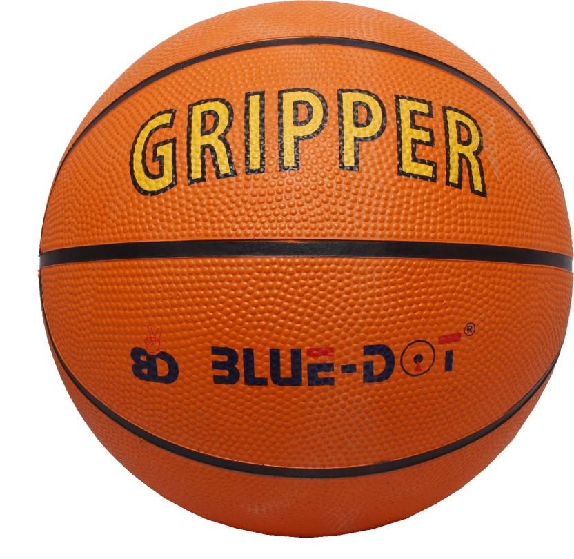 Blue Dot Gripper Basketball -   Size: 7