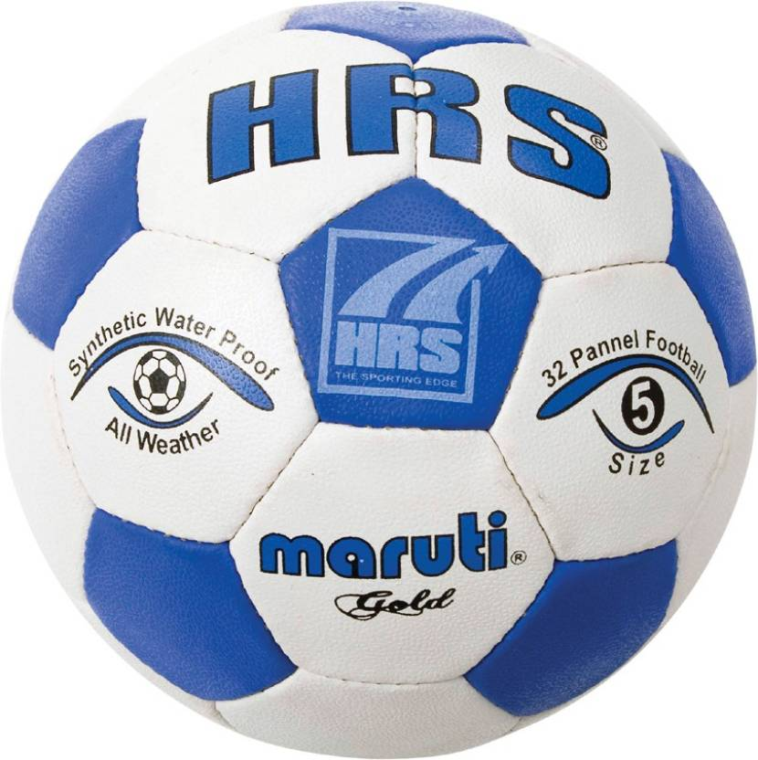 HRS Gold B/W Football -   Size: 2