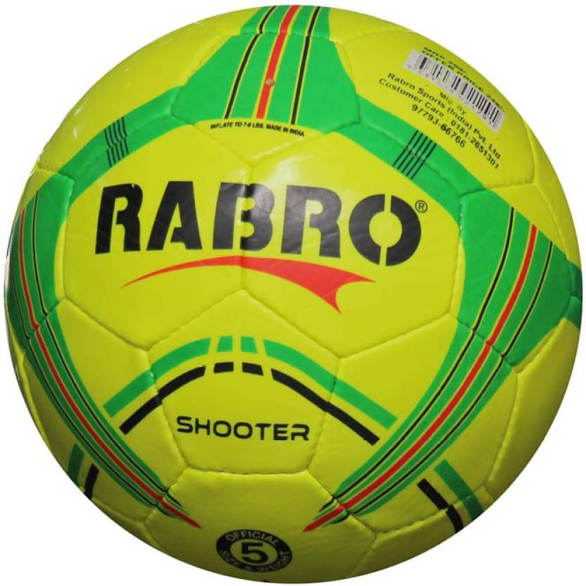 Rabro Rabroshooterball Throw Ball -   Size: 5