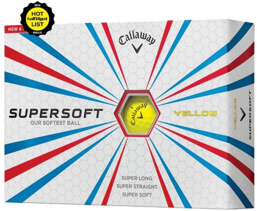 Callaway Supersoft Golf Ball -   Size: 4.27