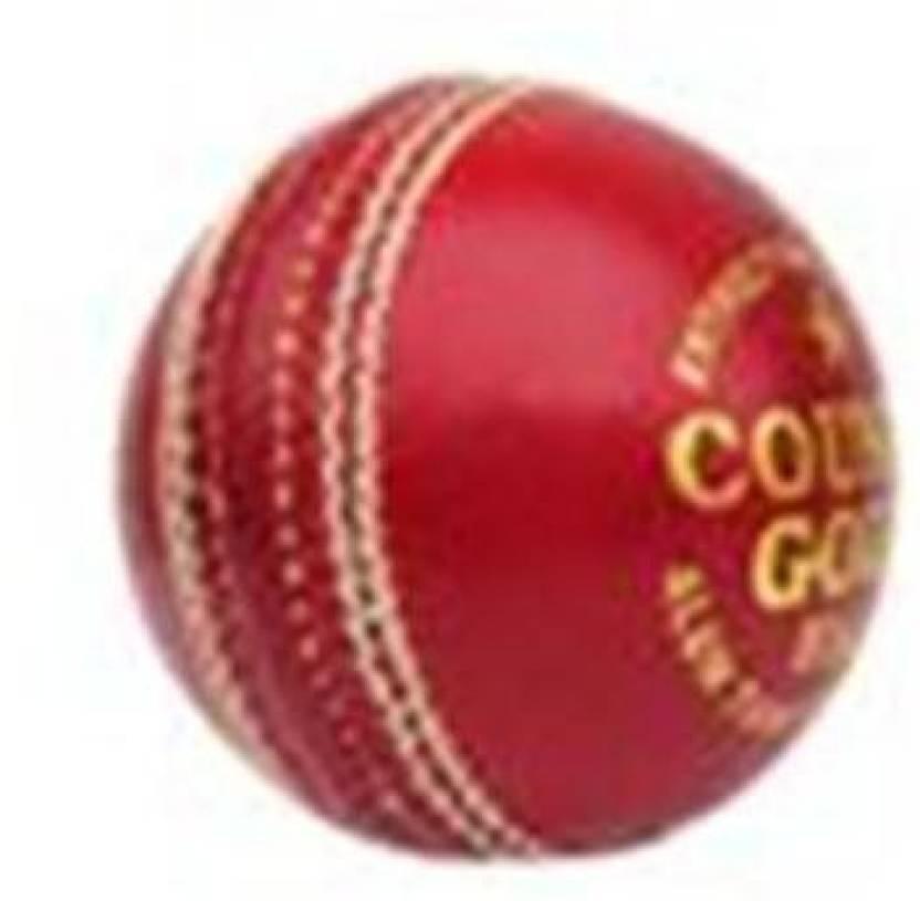 BAS Vampire County Gold Cricket Ball -   Size: 5,  Diameter: 2.5 cm