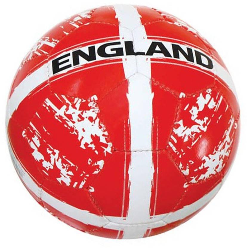 Nivia Kross World England Football -   Size: 4,  Diameter: 2.5 cm