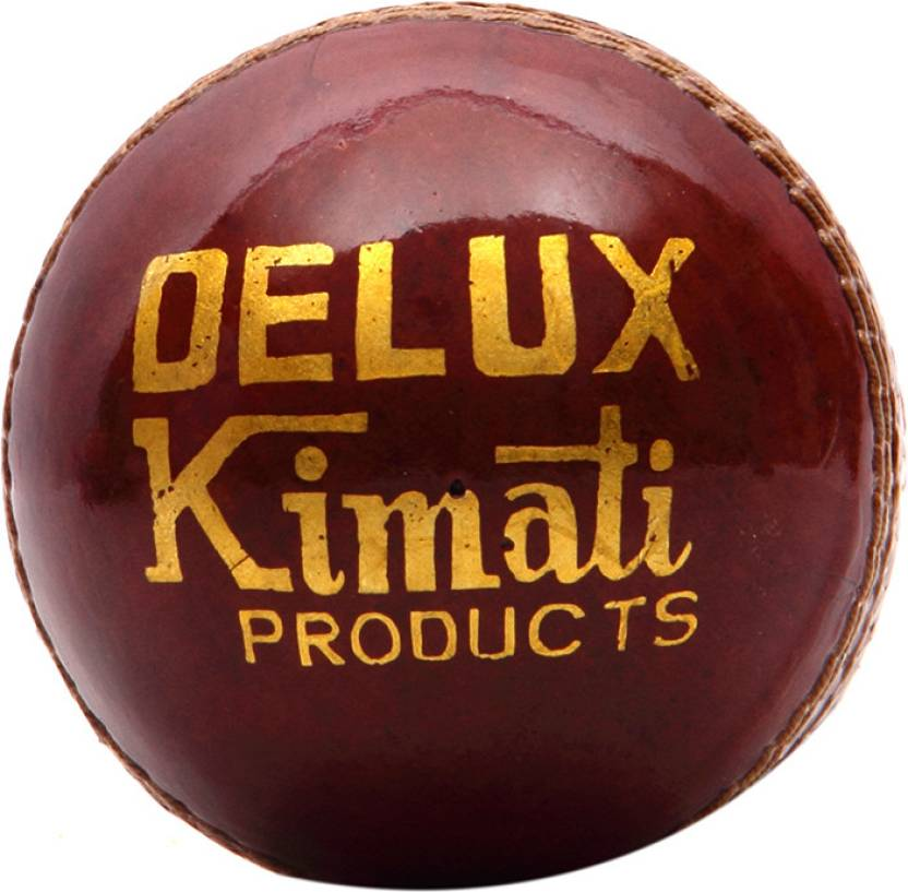 Kimati Deluxe Cricket Ball -   Size: NA