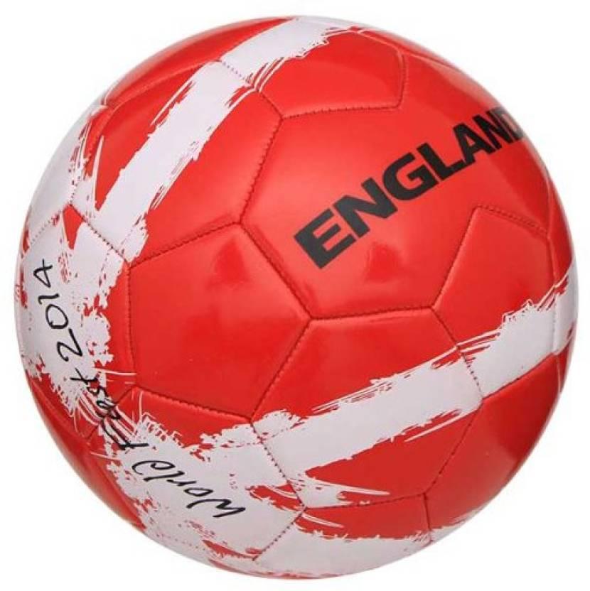 Nivia World Fest England Football -   Size: 5,  Diameter: 10 cm