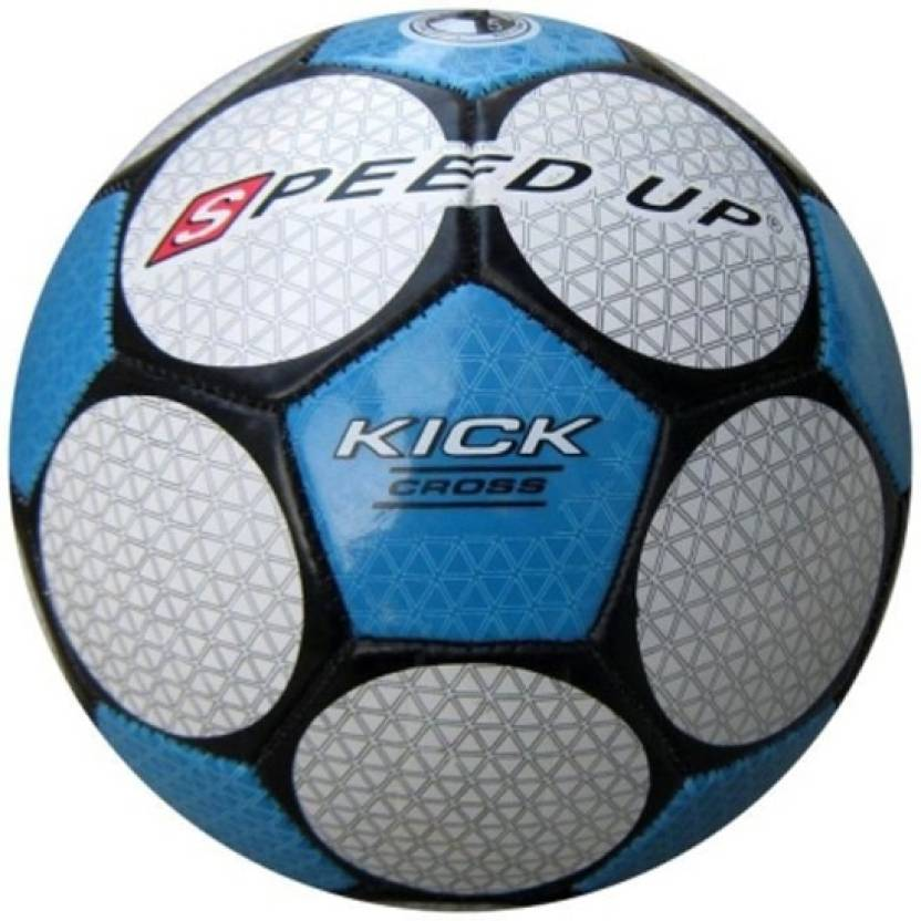Speed Up Kick Cross Leatherite Football -   Size: 5,  Diameter: 30 cm