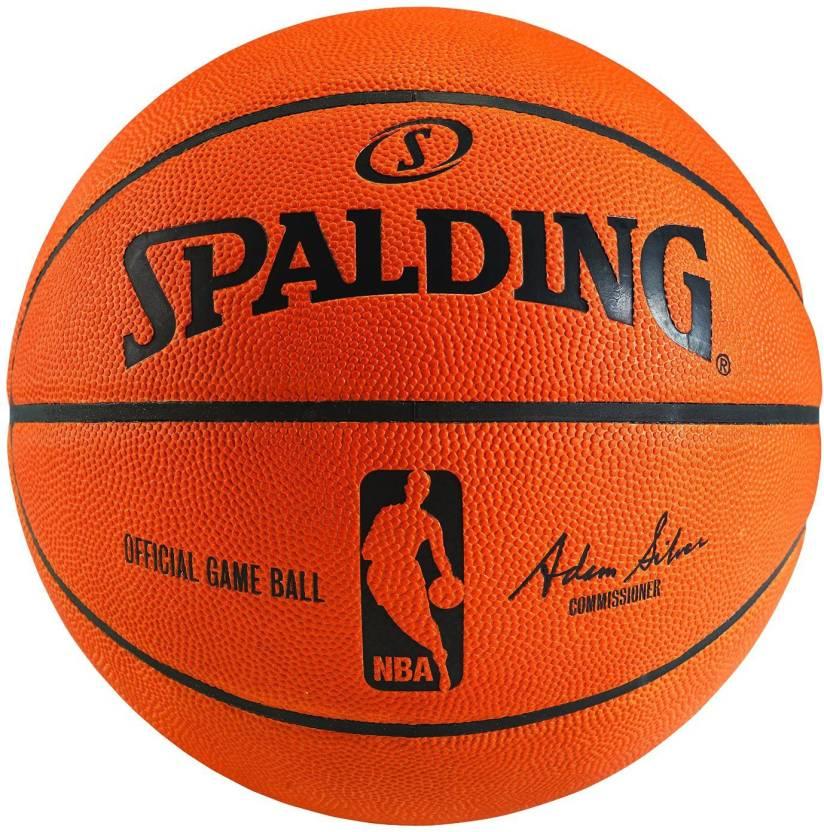 SPALDING Team Sport Basketball -   Size: 7