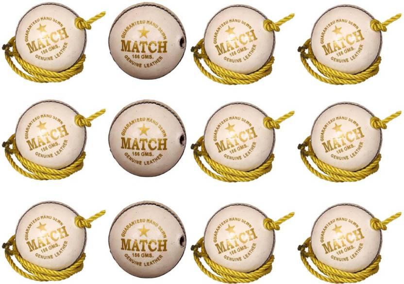 Priya Sports PCROPEWHITE-12 Cricket Ball -   Size: 5,  Diameter: 2.24 cm