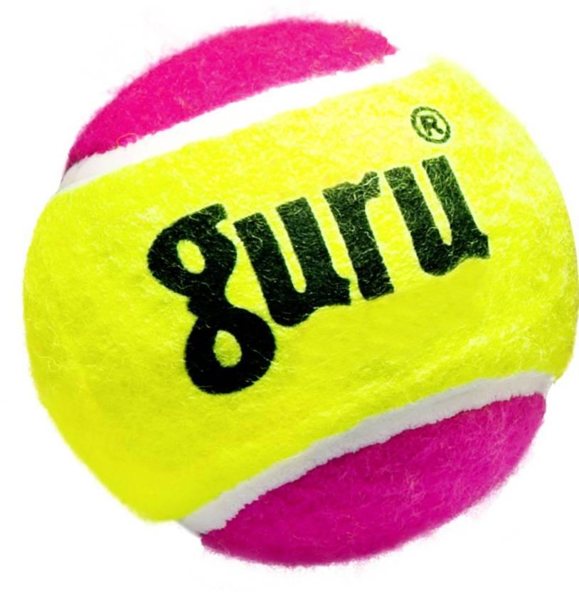 Guru Cricket Tennis Ball -   Size: Standard