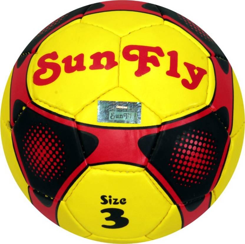 Sunfly Team Spirit Football -   Size: 3,  Diameter: 18.5 cm