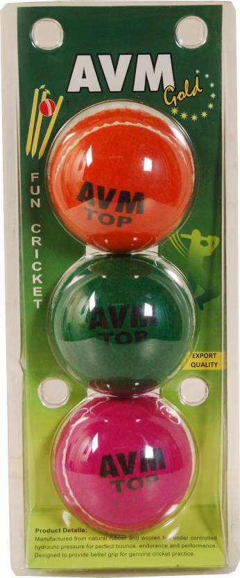 AVM Gold Cricket Tennis Ball